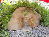 "Fairy Cove ""dugout"" for Miniature Gardens"