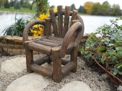 Fantail Chair for Miniature Fairy Gardens
