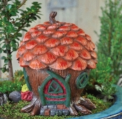 Pine Cone Cottage For Fairy Garden
