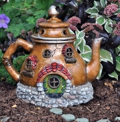 Teapot Fairy Garden House
