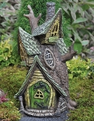 Tree House Fairy House w/Candle