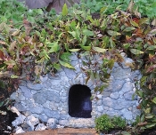 Troll Cave/ Dugout for Fairy Gardens