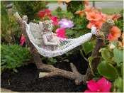 Hammock For Your Fairy Garden
