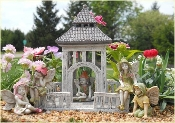 Stone Gazebo For Your Fairy Garden