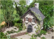 Ivy House For Miniature Fairy Gardens