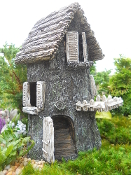 Driftwood Hideaway For Miniature Fairy Gardens