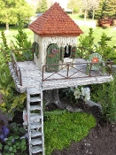 Fairy Garden Resort For Miniature Gardens