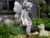 Allie The Fairy For Miniature Fairy Gardens