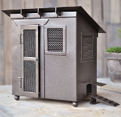 4 Pc Deluxe Chicken Coop For Miniature Fairy Gardens - 8.5""