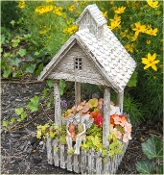Cottage Garden Planter for Miniature Fairy Gardens