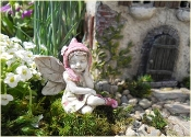 Kathy the Fairy For Miniature Fairy Gardens