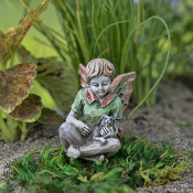 Patrick the Fairy For Miniature Fairy Gardens