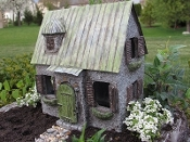 Elderbush Cottage For Miniature Fairy Garden