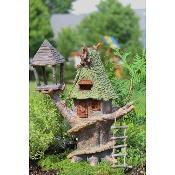 """Double Tree Inn"" for Miniature Fairy Gardening"