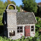 Stoneybrook Fairy House for Miniature Fairy Gardens