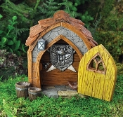 Fairy or Gnome Door and Foyer for Miniature Fairy Gardens