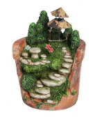 Lighted Pot Fairy Garden Container - EXCLUSIVE