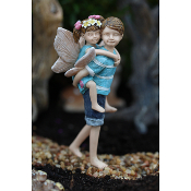 Big Brother, Little Sister Fairies For Miniature Fairy Gardens