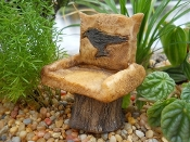 Blackbird Chair for Miniature Gardens