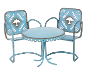 Sale - Blue Bird Bistro Set