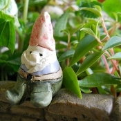 Mini Gnome for Miniature Fairy Garden