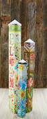 Life Is Beautiful Garden Pole Set - FREE FREIGHT