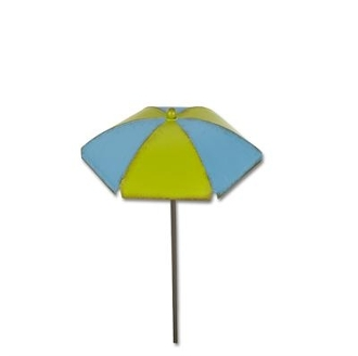 Sale - Chaise Umbrella by Gypsy Garden for Miniature Fairy