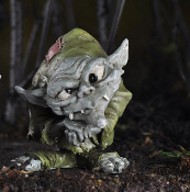 Ollie the Ugly but Cute Troll for Miniature Fairy Gardens