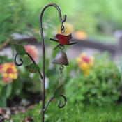 Bird Bell Windchime for Miniature Fairy Gardens