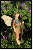 Lucas the Fairy  for Miniature Fairy Gardens