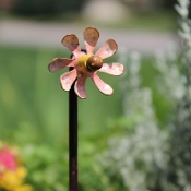 Flower Garden Spinner for Miniature Fairy Gardens