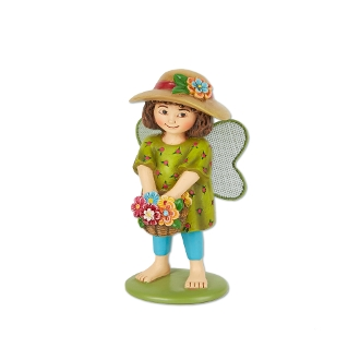 Lily the Flower Fairy for Merriment Miniature Fairy Gardening