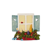 Hanging Window for Merriment Miniature Fairy Gardening