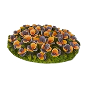 Sale - Pansy Flowerbed for Merriment Mini Fairy Gardening