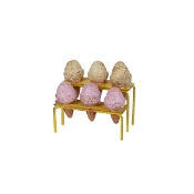 Sale - Ice Cream Cones on Stand for Miniature Fairy Gardens