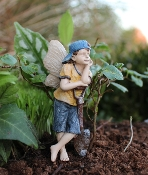 Gavin the Fairy for Miniature Fairy Gardens