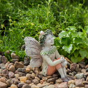 Clayton the Fairy For Miniature Gardens