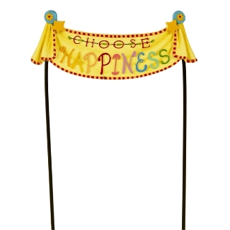 Sale - CHOOSE HAPPINESS Banner for Merriment Mini Fairy