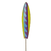 Fairy Surfboard on Pick for Gypsy Miniature Fairy Gardens