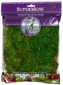 XL Bag Preserved Sheet Moss for Fairy Garden - 8oz