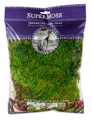 4Oz Bag Preserved Mood Moss for Fairy Garden