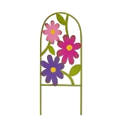 Wildflower Arbor Gate For Gypsy Fairy Gardens