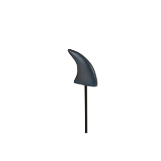 Grey Shark Fin Pick for Merriment Mini Fairy Gardening