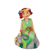 Agnes the Mermaid for Merriment Mini Fairy Gardening