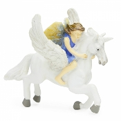 Unicorn and Fairy for Miniature Fairy Gardens
