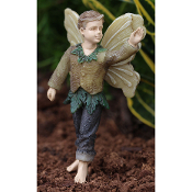 Gabriel the Fairy For Miniature Fairy Gardens