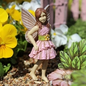 Gabby the Fairy for Miniature Fairy Gardens