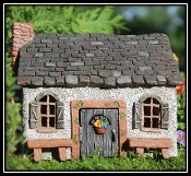 Sweet Meadow Fairy House for Miniature Fairy Gardens
