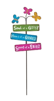 SOUL OF A GYPSY Sign for Gypsy Miniature Fairy Gardens