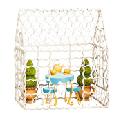 Chicken Wire Trellis Enclosure for Miniature Gardens - EXCLUSIVE